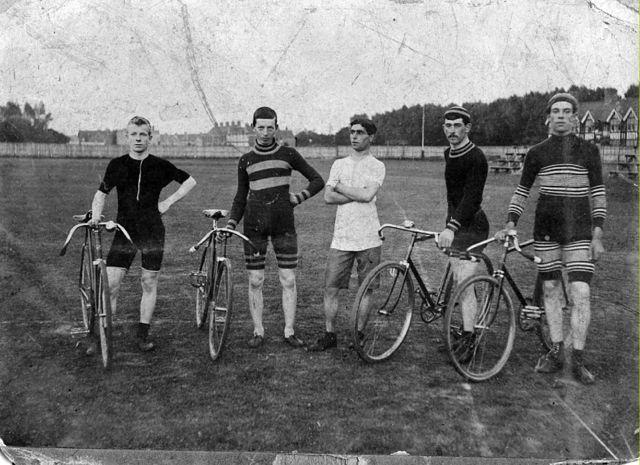 me and the lads, Preston Park, circa 1906